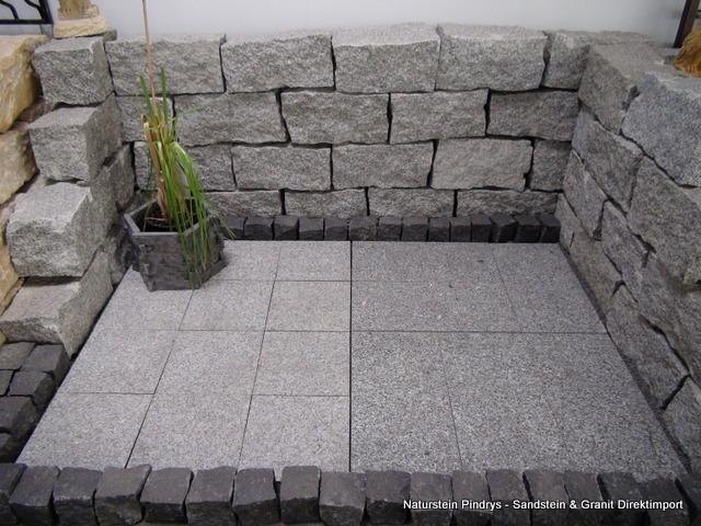 20x20x40 cm granit mauersteine. Black Bedroom Furniture Sets. Home Design Ideas